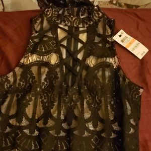 Material girl lace dress
